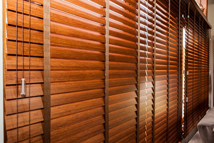 Persina Horizontal 50mm Bambu com fita